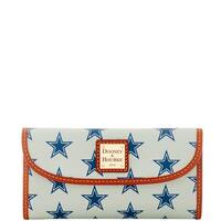 Dooney & Bourke NFL Dallas Cowboys Continental Clutch Wallet (Introduced by Dooney & Bourke at $128 in Aug 2016)