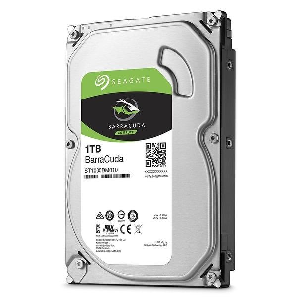 "Seagate BarraCuda ST1000DM010 1TB 64MB Cache SATA 6.0Gb/s 3.5"" Hard Drive"