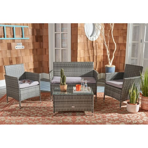 Safavieh Outdoor Living Bandele 4-piece Patio Set