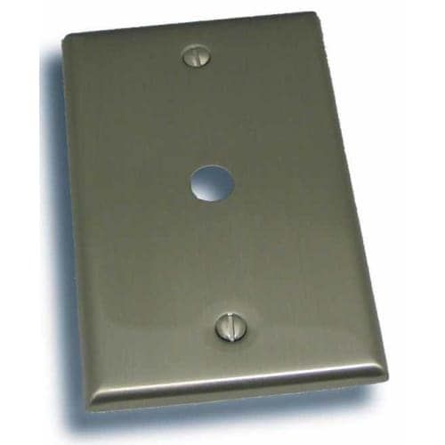 """Residential Essentials 10812 4.5"""" X 2.75"""" Cable Jack Switch Plate Featuring a Rustic / Country Theme"""