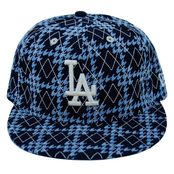 a793f570 Shop MLB Los Angeles Dodgers New Era 59Fifty Black Argyle Fitted Hat - 7 -  Free Shipping On Orders Over $45 - Overstock - 16948747