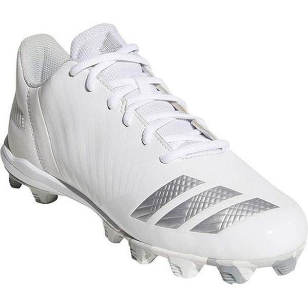 b5418da7e658 adidas Women's Icon MD Fastpitch Softball Cleat FTWR White/Silver  Metallic