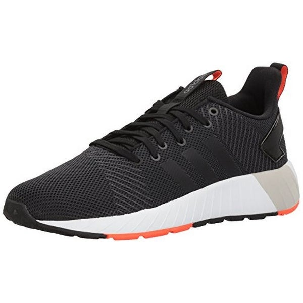 Adidas Mens Questar Byd, Black/Black/Red