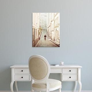 Easy Art Prints Keri Bevan's 'The Bicycle Thief' Premium Canvas Art