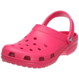 Crocs Kid's Classic Citrus/Ocean Clogs - Pink Lemonade - 1 m us little kid / 3 b(m) us women