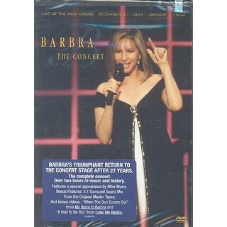 Barbra Streisand - The Concert: Live at the MGM Grand - DVD