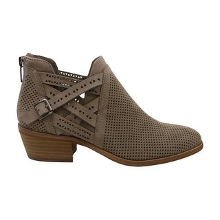 Vince Camuto Womens Pranika Suede Almond Toe Ankle Fashion Boots - 6
