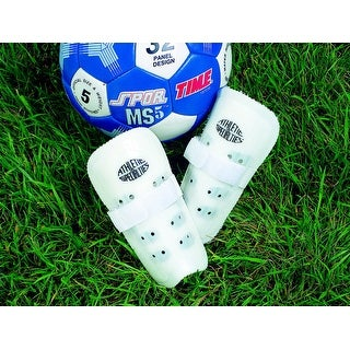Athletic Specialties Adult Protective Soccer Shin Guards, 8 Inches, Pair