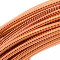 Beadsmith Aluminum Craft Wire Copper Color 12 Gauge 39 Feet (11.8 Meters)