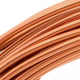 Beadsmith Aluminum Craft Wire Copper Color 12 Gauge 39 Feet (11.8 Meters)