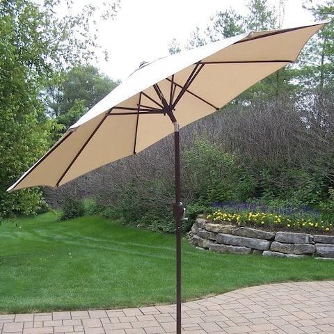 Oakland Living Corporation Polyester 9-foot Market Umbrella