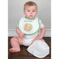 Raindrops Unisex Baby Bib-To-Go 3-Piece Gift Set, Cereal - One size
