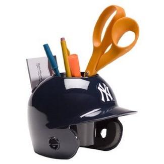 701e417b2b4 Shop New York Yankees MLB Baseball Schutt Mini Batting Helmet Desk Caddy -  Free Shipping Today - Overstock.com - 19867223