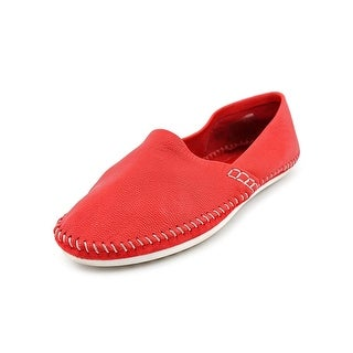 BCBGeneration Xavier Women  Round Toe Leather Red Loafer