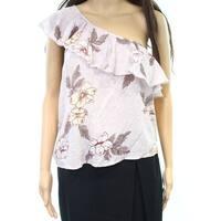 Melrose And Market Womens Medium Floral-Print Blouse $25