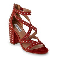 Steve Madden Womens Fara Open Toe Special Occasion Strappy Sandals - 6.5