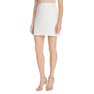 Aqua Womens A-Line Skirt Textured Pattern