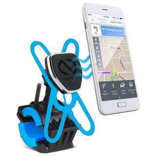Naztech Magbuddy Universal 360° Swivel Mobile Cell Phone Bike Mount Black (14289)