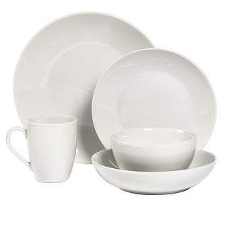 Link to Tabletops Gallery 10PC Just Two Of Us White Porcelain Dinnerware - Service of 2 Similar Items in Dinnerware
