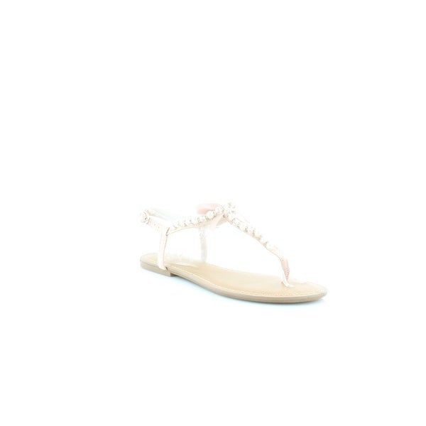 Matterial Girl Perlie Women's Sandals & Flip Flops Blush - 6.5