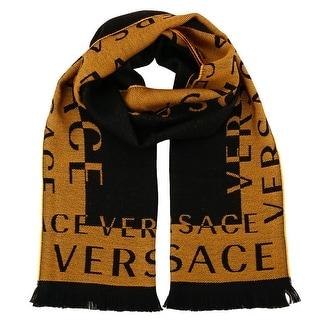 Versace IT00630 100% Wool Mens Scarf