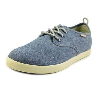 Sanuk Guide TX Men Round Toe Canvas Blue Sneakers