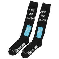 Doctor Who I Am The Doctor Womens Knee High Socks