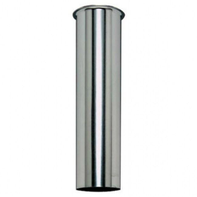 Keeney 114K Chrome Plated Sink Tail Piece, 1-1/2 x 12, 22-Gauge