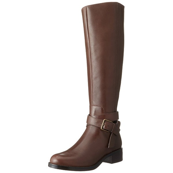 Cole Haan Womens grand.os Almond Toe Mid-Calf Fashion Boots