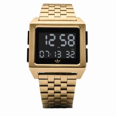 Adidas Archive M1 Z01 513-00 Gold Stainless-Steel Quartz Fashion Watch