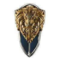 Warcraft Stormwind Costume Shield Adult One Size - Blue