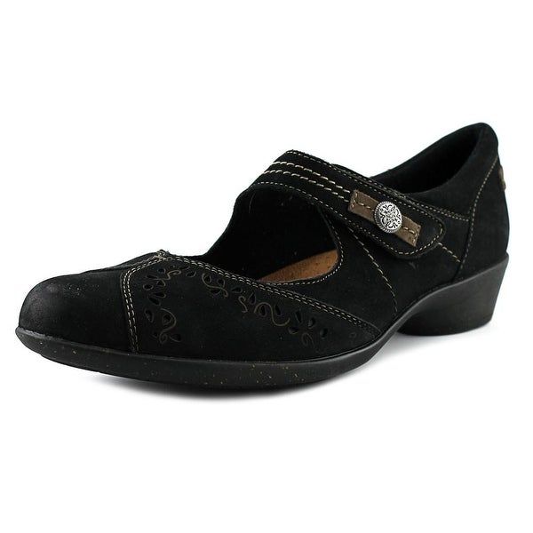 Rockport Cobb Hill Nadia Women Round Toe Leather Black Mary Janes