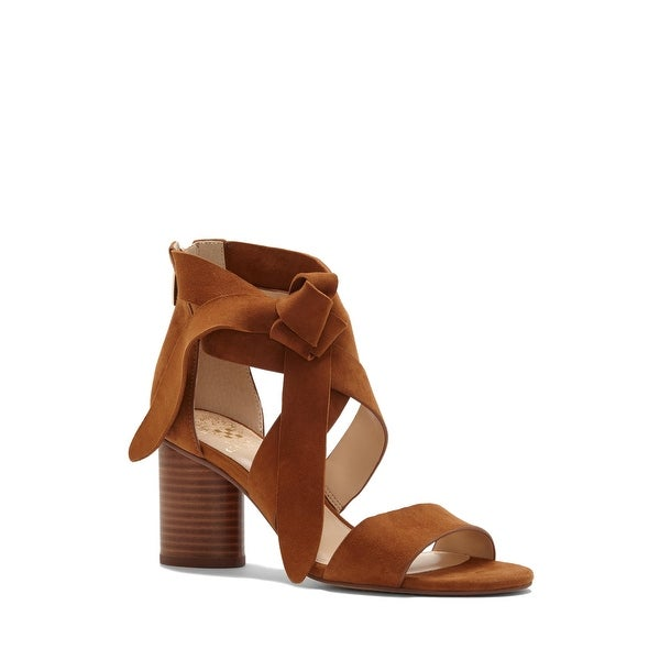 Vince Camuto Womens Jeneve Leather Open Toe Casual Strappy Sandals