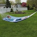 Sunnydaze 2-Person Quilted Hammock with Spreader Bars and Detachable Pillow - Thumbnail 39