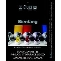 Bienfang Canvasette Pad, 16 x 20 in, Pack of 10