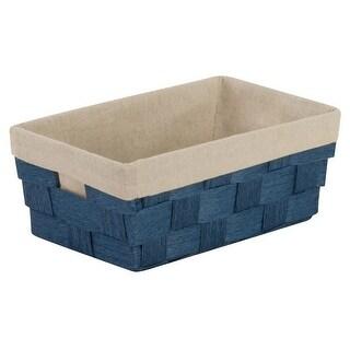 Honey Can Do STO-03724 Woven Basket, Blue