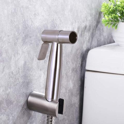 Stainless Steel Hand-Held Bidet Sprayer Set