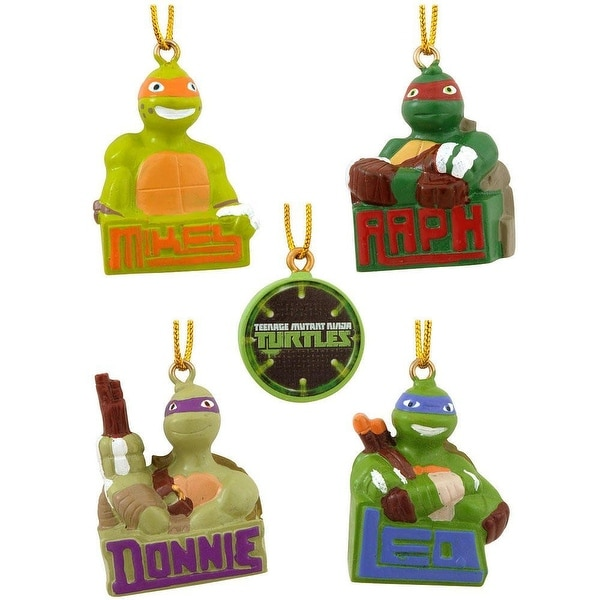 Teenage Mutant Ninja Turtles Resin Ornament Set