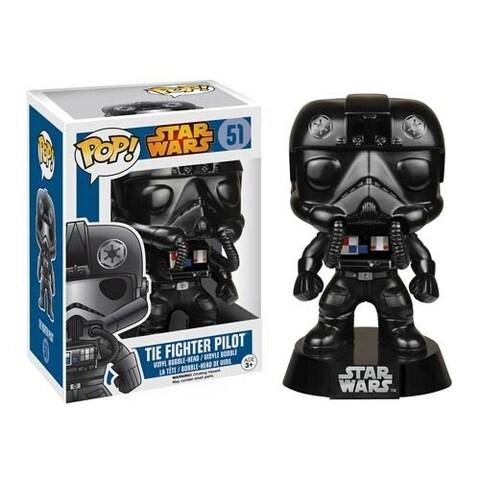 Star Wars TIE Fighter Pilot Pop! Vinyl Bobble Head - Multi-Colored