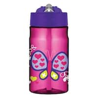 Thermos Butterfly Straw Bottle