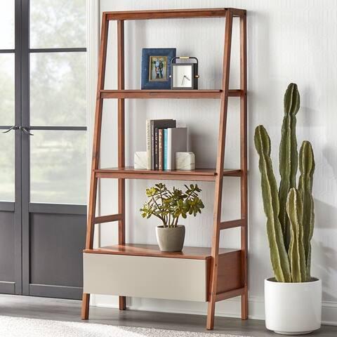 Lifestorey Nordic Ladder Bookshelf