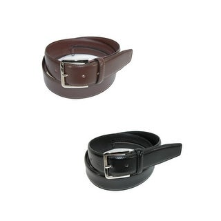 Belton USA Men's Leather Travel Money Belts (Pack of 2)