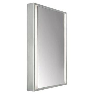 """Tech Lighting 700BCSIBSS-CF 36"""" Tall Lighted Mirror"""