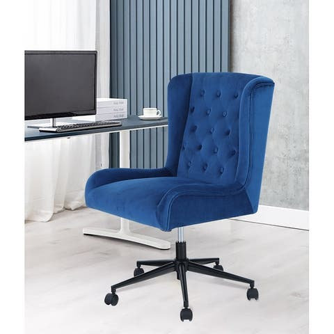 PHI VILLA Adjustable Swivel Home Office Rocking Chair