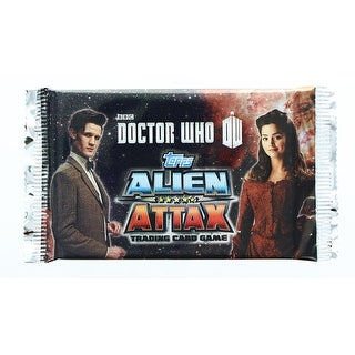 Doctor Who Alien Attax Trading Card Game Booster Pack - multi