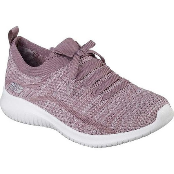 Shop Skechers Women's Ultra Flex Statements Sneaker Lavender
