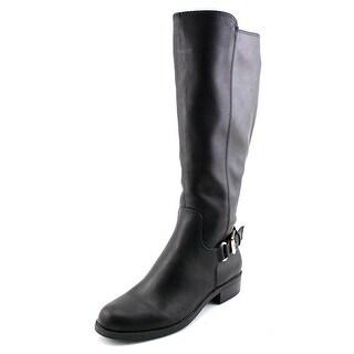 Alfani Jarabina Wide Calf W Round Toe Synthetic Knee High Boot