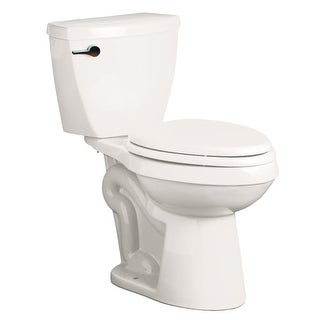 "Mirabelle MIRBD200 Bradenton 1.28 GPF Toilet Tank Only with 12"" Rough In - Left Hand Trip Lever"