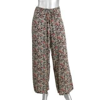 Denim & Supply Ralph Lauren Womens Smocked Faux Wrap Gaucho Pants
