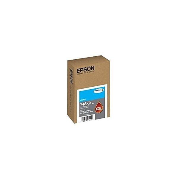 Epson 748 Ink Cartridge Extra Large Capacity - Cyan 748 Ink Cartridge Extra Large Capacity - Cyan